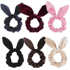 A 2 Pack Of Caramel Brown Soft Touch Fluffy Donut Hair Scrunchie//Bobble