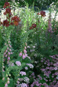Laurent Perrier Chelsea garden show flower combo