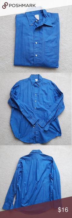 Brooks Brothers Maker Shirt Brooks Brothers Maker blue dress shirt. Size 16 1/2. Brooks Brothers Shirts Dress Shirts