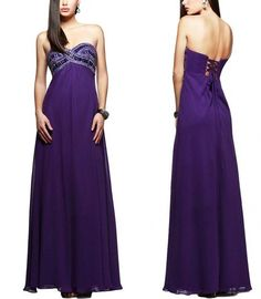 Bridesmaid Dress Sweetheart Collar Beads Long Prom Dress Party Dresses Evening Dress S77 on Luulla