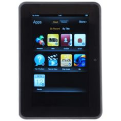 New Amazon Kindle Fire 7 inch IPS 8 GB Black Front & Rear Camera Bundle