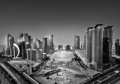 West Bay, Doha by Pygmalion Karatzas