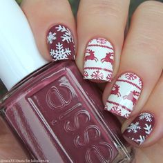 Image result for MoYou-London Nail Art Stamping Plate Festive Collection 04 review