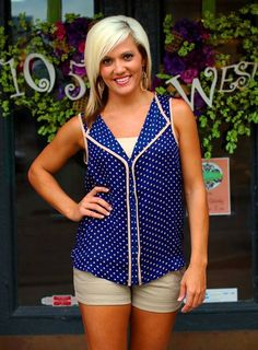 """Leigh"" Top, $32.50.  Available at 105 West Boutique in Abbeville, SC"