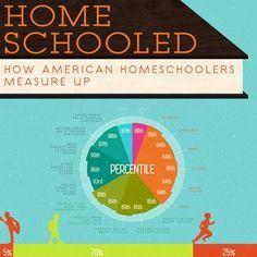 American homeschooler infographic.