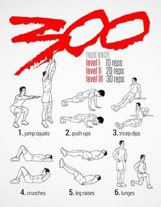 Spartan body weight workout