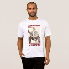 Golfing Happiness Sport-Tek Competitor T-Shirt - mens sportswear fitness apparel sports men healthy life