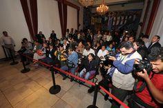 El Gobernador de Veracruz, Javier Duarte de Ochoa, en conferencia de prensa realizada en Sala de Banderas de Palacio de Gobierno, presentó algunas acciones que la administración estatal implementará para reforzar la seguridad en la entidad.