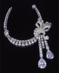 Diamond Necklace of Maharani Sita Devi of Baroda