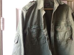 top zipper epaulette pocket safari shirt
