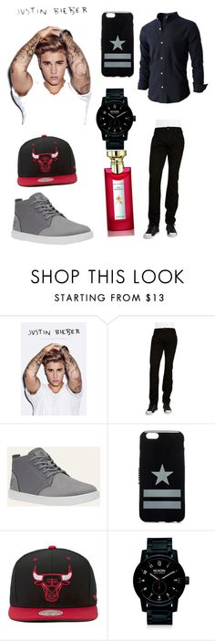"""""""❤❤❤✌✌✌"""" by julissa19 ❤ liked on Polyvore featuring Justin Bieber, Joe's Jeans, Givenchy, Mitchell & Ness, Nixon, Bulgari, men's fashion and menswear"""