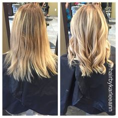 Bye bye grow out! Balayage is a nice way to grow your natural out, giving you less maintenance, saving you money, and still having awesome hair! Make your appointment with me #ellemarielakestevens #4253978883 #ellemariekarlee #hairbykarleeann #ellemarie #balayage #blonde #summerhair #naturalgrowout #beautiful #curls #surfacepainting #redkenobsessed #blondedimensions #olaplex