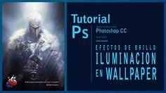 Tutorial Photoshop efectos de brillo e iluminación en un wallpaper by @i...