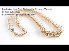 crazymokes » Graduated Jens Pind Necklace Tutorial/Guideline