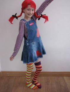 Pippi Longstocking #worldbookday #worldbookdaycostumes #dressingup