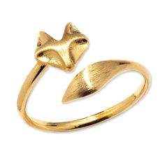 $25 and Under - Gold Plated Ring from #InStyle