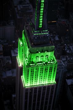 Empire State Building will light up green for Muslim holiday Eid-al-Fitr but has rejected childhood cancer lighting. More people have had cancer than there are Muslims in the US.