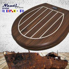 NautiSun WC Sitz Nizza/Nuß