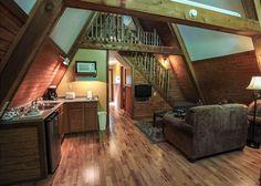 A Frame Cabin Interior