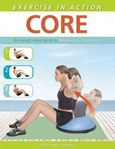Presents an illustrated guide to strengthening the abdominal muscles and lower back, with exercises for warm-ups, stretching, and target areas, using body weight and a variety of exercise equipment.