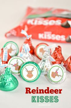 made with Hershey's Kisses, are perfect for your homemade holiday gift ...
