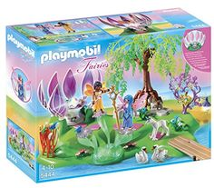 PLAYMOBIL Fairy Island with Jewel Fountain Playset PLAYMOBIL® http://www.amazon.com/dp/B00A30Z534/ref=cm_sw_r_pi_dp_7EALvb1DY2HMG