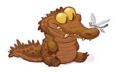 I love when you draw crocodilians! <3