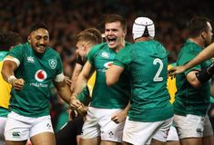 Rugby: All Blacks stunned by Ireland in thrilling Dublin test Rugby Sport, Munster Rugby, Irish Rugby, Tv Schedule, World Rugby, All Blacks, Rugby Players, Sports News, Dublin