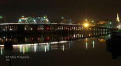 Woods Memorial Bridge in Downtown Beaufort, SC