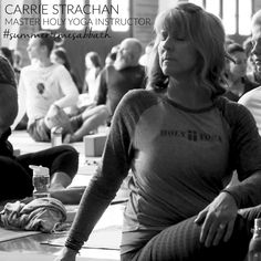 Hi, I'm Carrie Strachan, Holy Yoga Regional Director of the Northwest and Canada. I live on Bainbridge Island WA. We all long for summer here in the NW, longer warmer days and less rain means lots of outdoor time. Summer Sabbath rest for me is getting outdoors and connecting more deeply with God's creation. It means spontaneity with my kids, sometimes practicing yoga in the most unexpected places and spaces. Summer Sabbath rest for me also means freedom....freedom from schedules, routines…