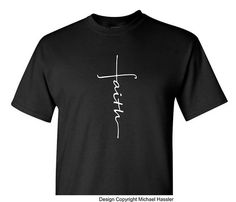 Faith Cross Shirt Faith shirt Christian Shirt Religious