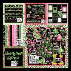 Evergreen Collection | Salt Town Studio Digital Art