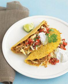 Chili-kip taco's met tomatensalsa