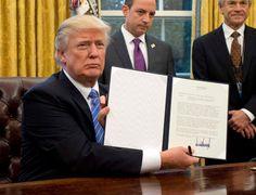 Casa Branca anuncia que vão ser aumentadas e aceleradas as expulsões de imigrantes ilegais. Presidente dos EUA reúne-se na próxima semana com homólogo do México.