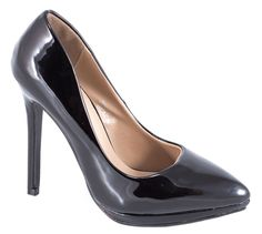 Pantofi Stiletto - Pantofi negri stiletto JW918N - Reducere 44% - Zibra