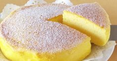 How To Make The Japanese Cheesecake With Only 3 Ingredients