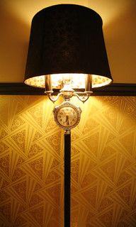 Eyepopping Loft in Iconic Art Deco building - eclectic - living room - los angeles - by Shannon Ggem ASID- Ggem Design Co LLC