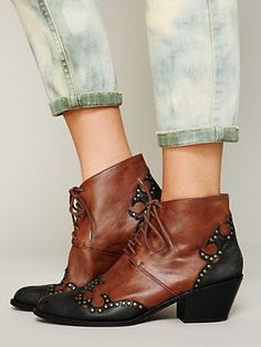 Jeffrey Campbell Bowery Ankle Boot at Free People Clothing Boutique