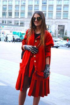 Street style: gloves!!
