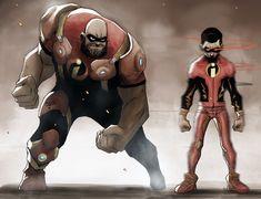 Drawing Superhero ArtStation - The incredibles, Gbenle Maverick - Male Character, Character Drawing, Comic Character, Character Concept, Character Design, Cartoon Kunst, Comic Kunst, Cartoon Art, Drawing Cartoon Characters