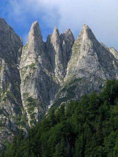 Molnár-fogak - Bucsecs-hegység - Erdély