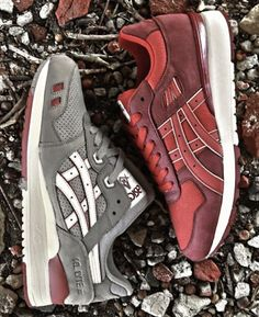 Asics Gel Lyte III Red Bandana Available SneakerNews