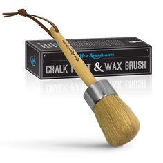 Professional Chalk Paint Wax Brush Painting Waxing Annie Sloan Dark Clear #NewRenaissance