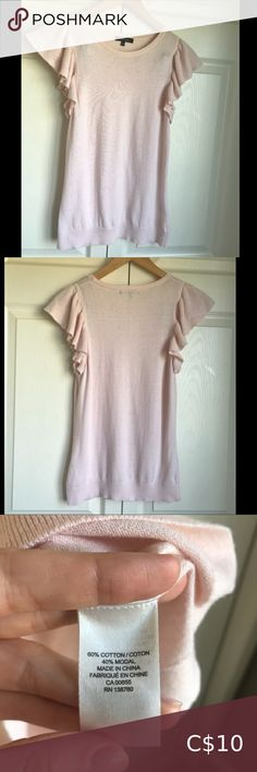 Rw&co blush short sleeve blouse Rw&co short sleeve blouse in great condition!   Great blouse for work. Soft, stretchy and comfortable. RW&CO. Tops Blouses