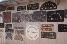 Wool Bale Stencils by Serendigity, via Flickr Shearing, Sheep Wool, Farming, Stencils, Art Ideas, Shed, Gallery Wall, Decorating Ideas, Barn