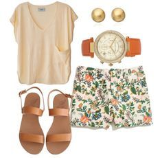 Zoo Outfit on Pinterest | Outfits Khaki Shorts and Going Out Clothes