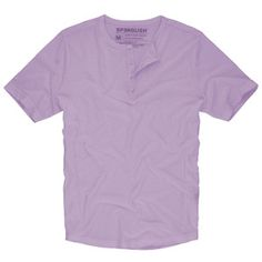Basic Henley Men's Lavender, $24, now featured on Fab.