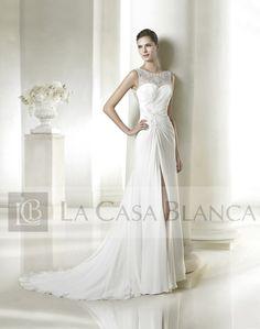 Vestidos de Novia / San Patrick / SADIRA -- // La Casa Blanca // --