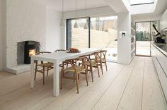 Extra Wide Wood Plank Floor by Dinesen, Remodelista