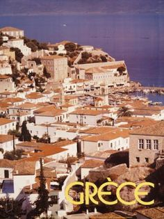 GRECE 1987. (ΥΔΡΑ). Σχεδιαστής σύνθεσης ο Ν. Κωστόπουλος. Old Posters, Greece Pictures, Retro Pictures, Poster Ads, Travel Wall, Vintage Travel Posters, Travel Guides, Mount Rushmore, Greek